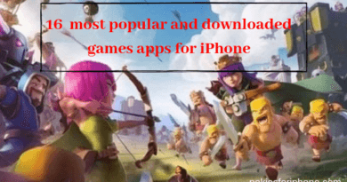 16 most popular and downloaded games apps for iPhone