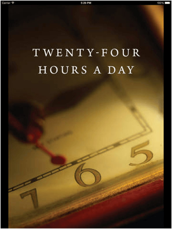24 hours a day app