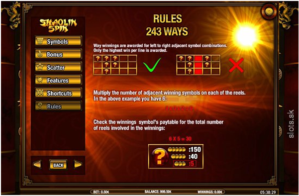 How to play 243 Ways Online Pokies at iPhone casinos?