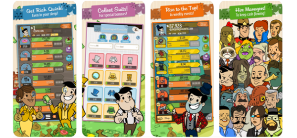AdVenture Capitalist game app