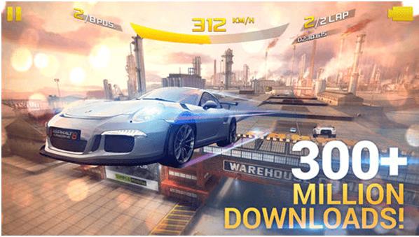Asphalt 8- Arcade game for iPhone