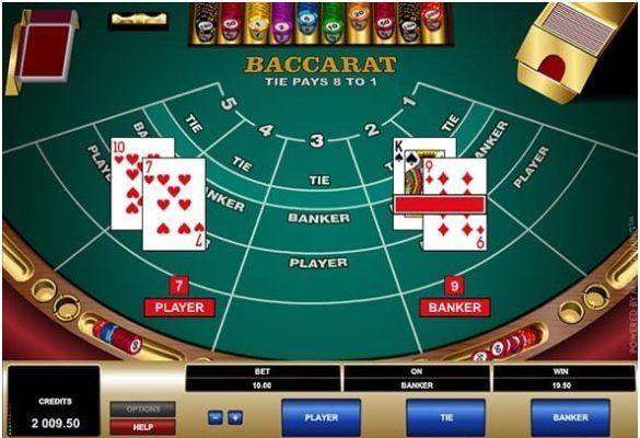 Rules to play Baccarat with your iPhone