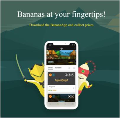 Banantic game app