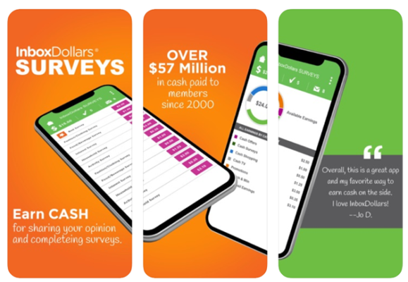 Inbox Dollars app
