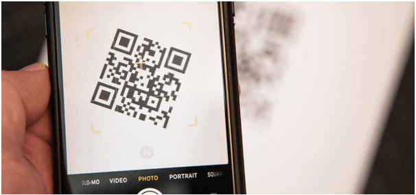 Built in QR scanner