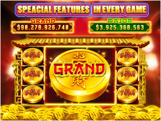 Cashmania Slots Game App For iPhone- game features
