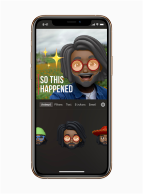 Clips app for iphone