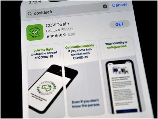 Covid safe app Australia features