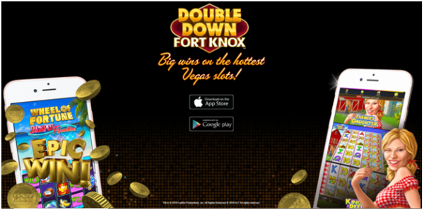 Double Down Fort Knox iPhone Casino App to Play the Latest Vegas 777 Pokies