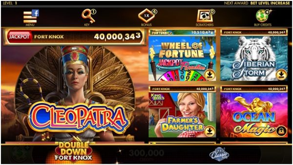 How to get started playing Double Down Fort Knox iPhone casino app?