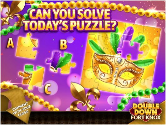How to get more free credits at Double Down Fort Knox iPhone casino app with Facebook