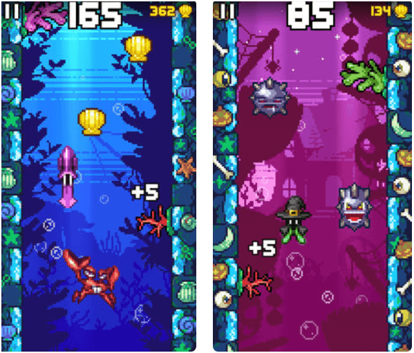 Eight free games to enjoy with your iPhone- Ink or Swim App