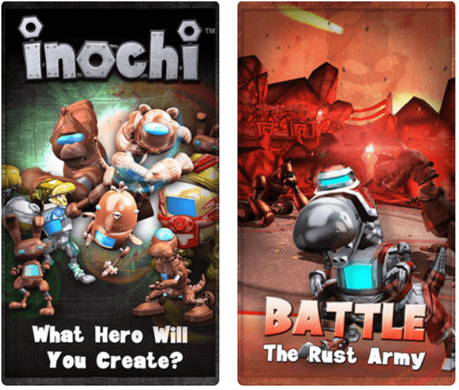 Eight free games to enjoy with your Iphone- Inochi app