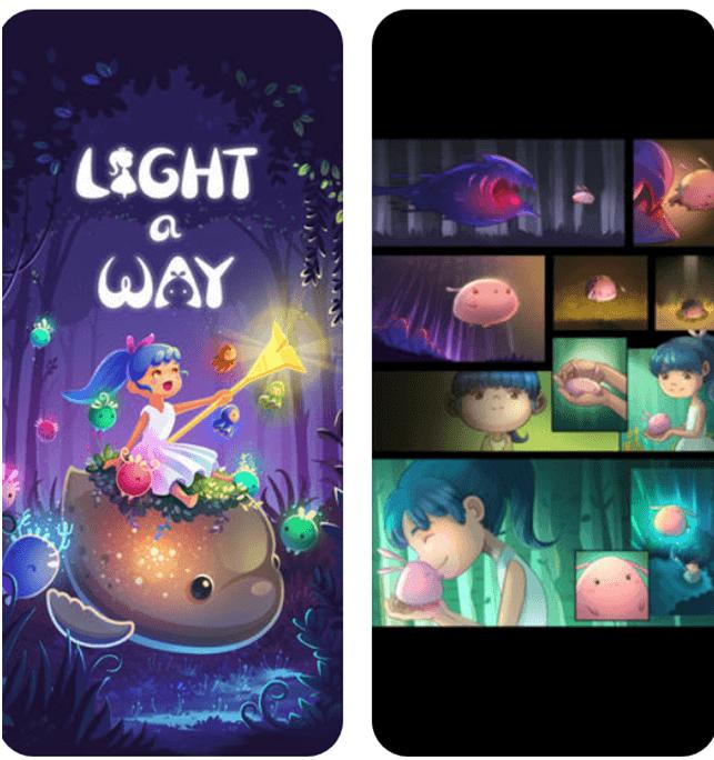Light a way game app