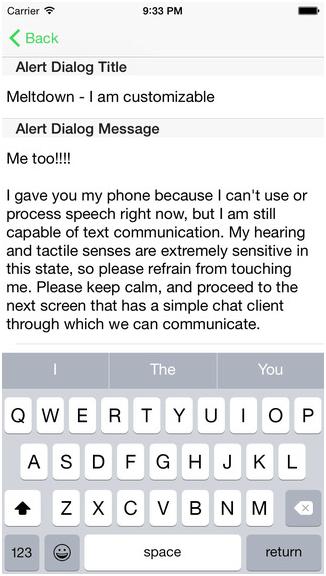 Emergency Chat