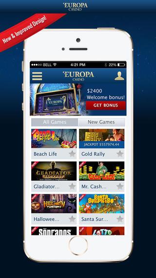 казино европа скачать для андроид