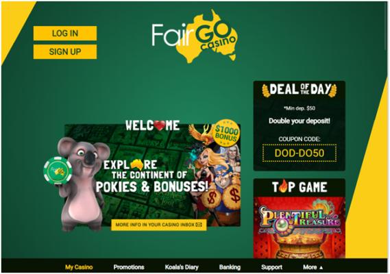 Fair Go Casino - POLI
