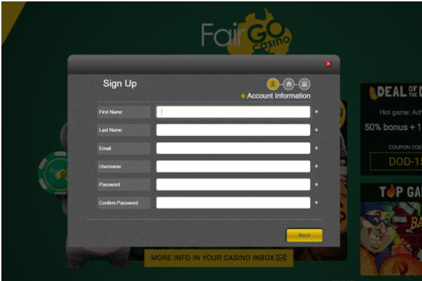 Fair Go Casino Sign Up