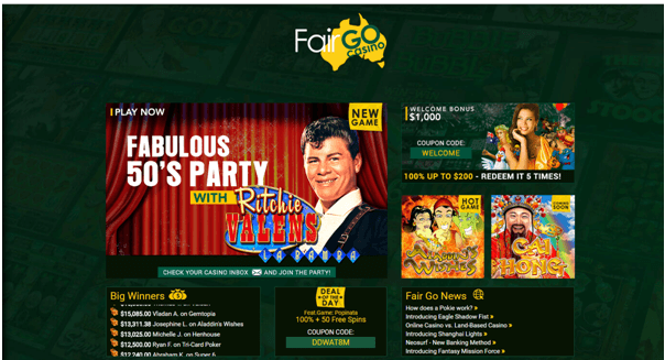 Fair Go Online iPhone Casino