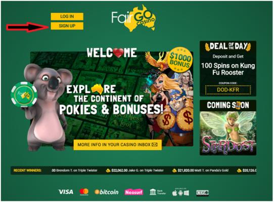 Fair go online casino