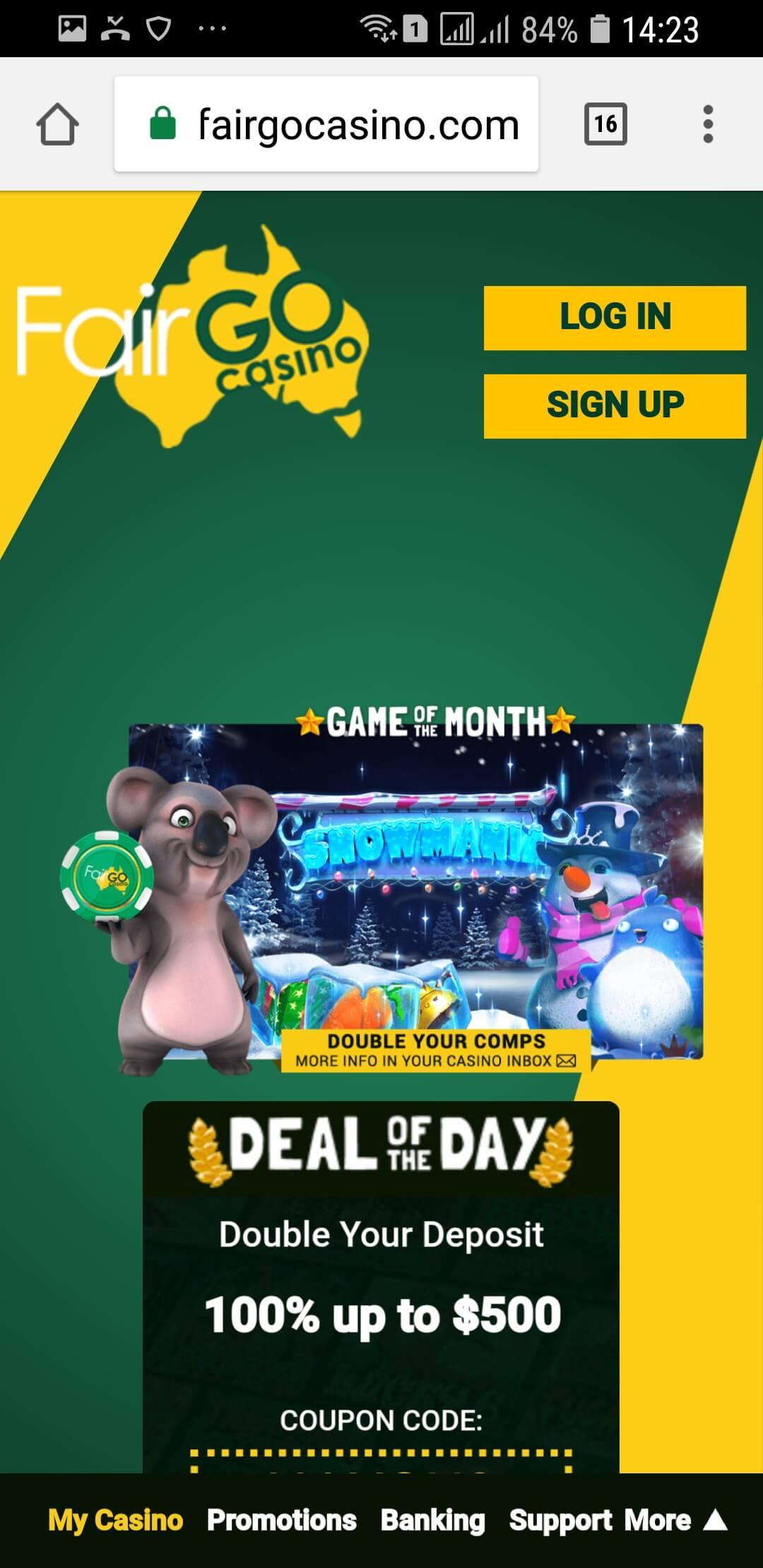 Fair Go - AU friendly casino