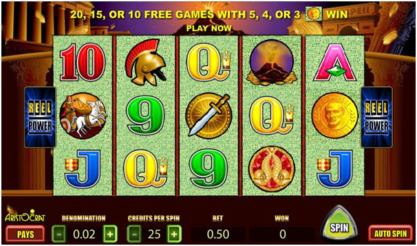 Features of Aristocrat pokies