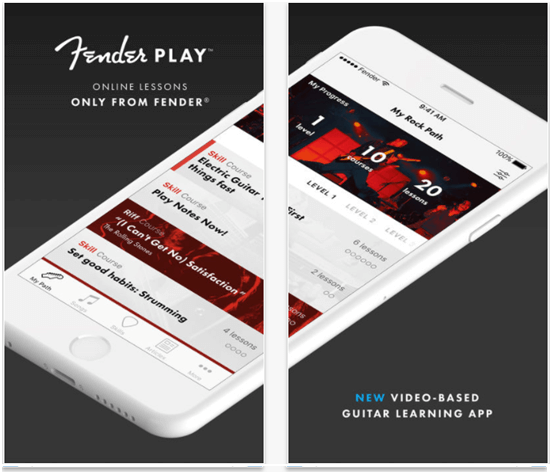 Fender Play App