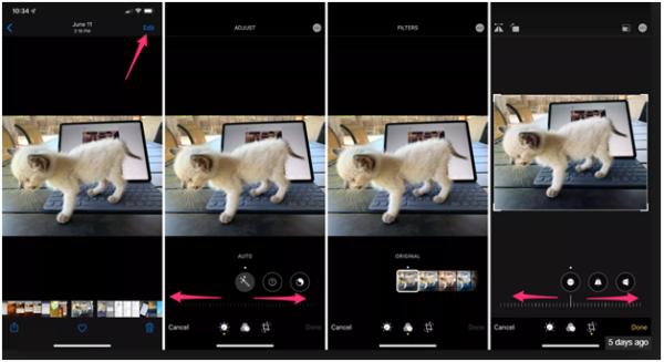 Filters in iOS 13 photo app
