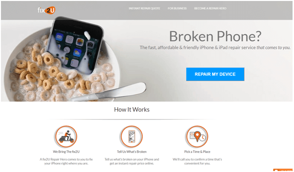 Fix2U IPhone repair in Australia