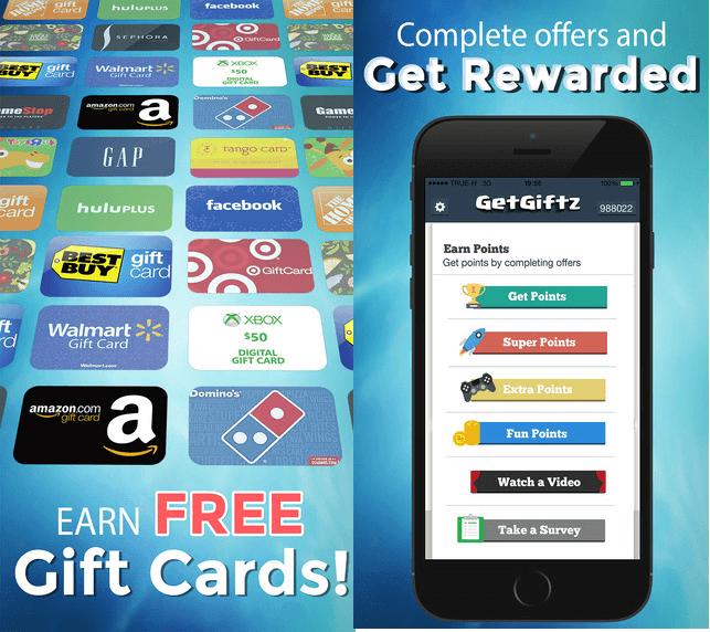 Get giftz app