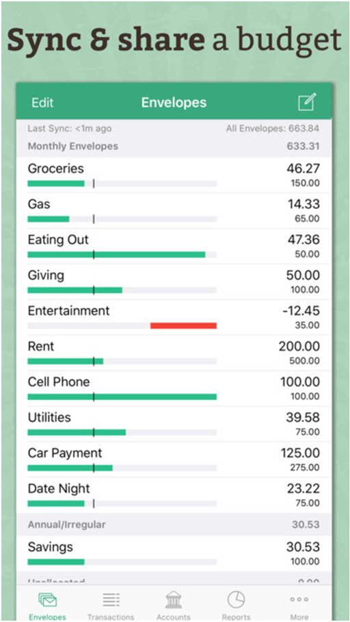 Good Budget App
