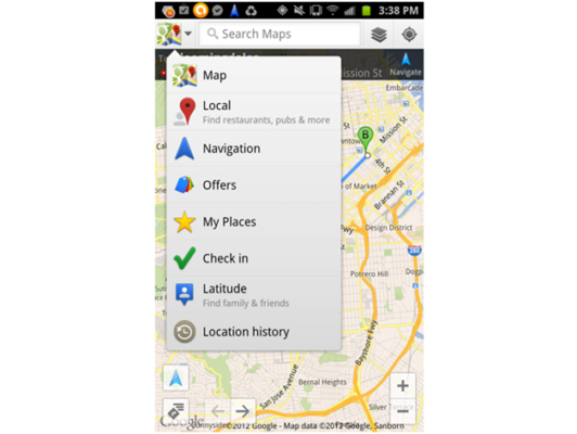 Google Map App for iPhone