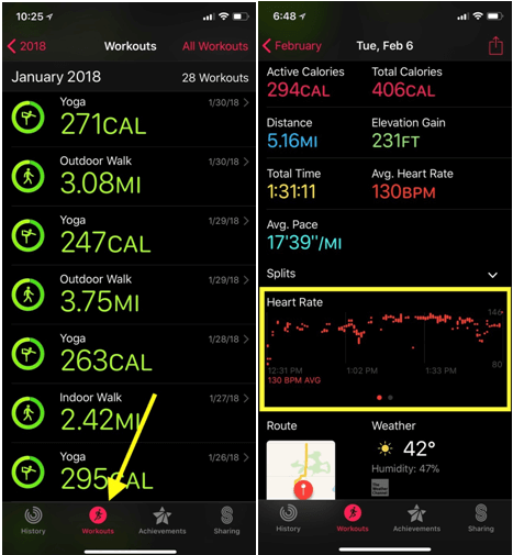 Heart rate app- How it works