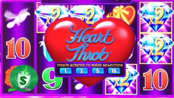 Heart throb slot
