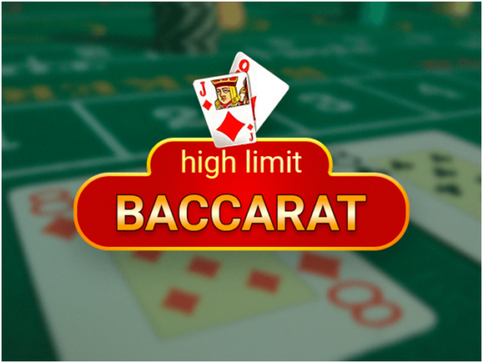 What is high limit Baccarat?