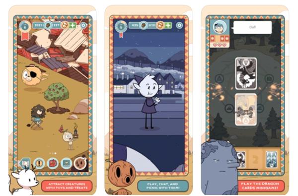 Hilda creatures app