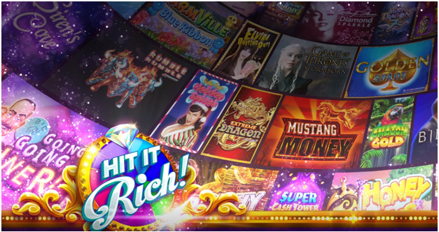 Hit it Rich - pokiesfor iphone