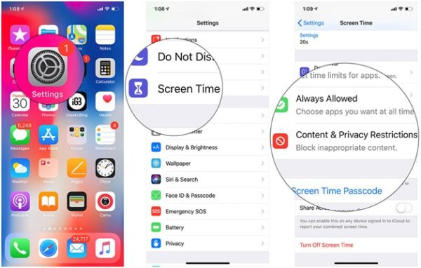How to hide apps