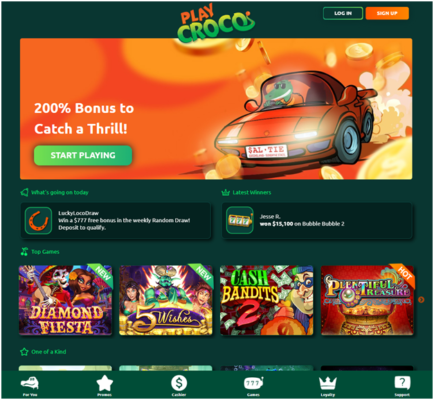 How to play real money pokies at new Croco casino in Australia