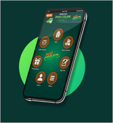 How to play real money pokies at new Croco casino with your iPhone?