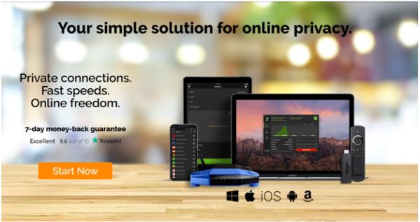 IP Vanish app
