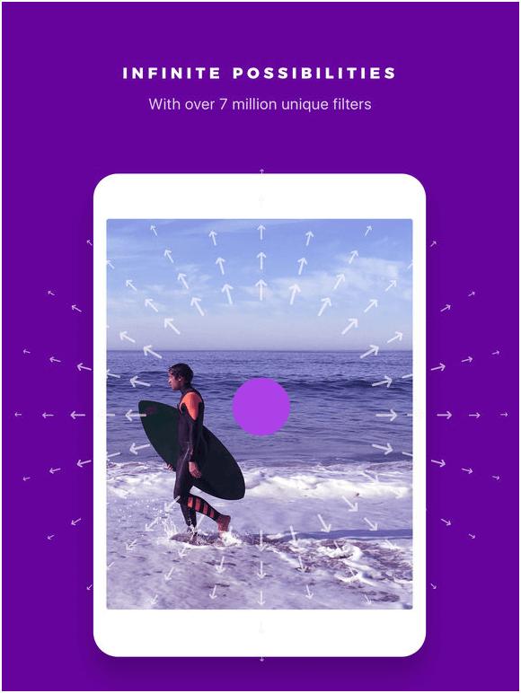 Inflter app