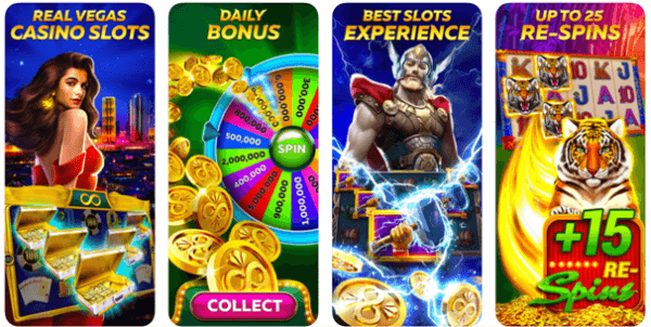 How to play Infinity slots on iPhone