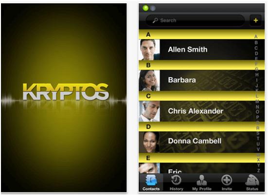 Kryptos app