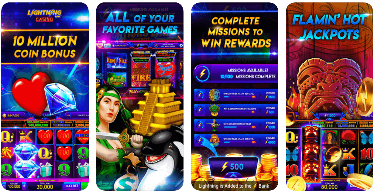 Lightening Link Pokies app