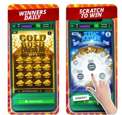 Lotto scratchies Australia