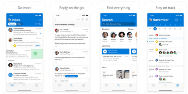 Microsoft outlook email app