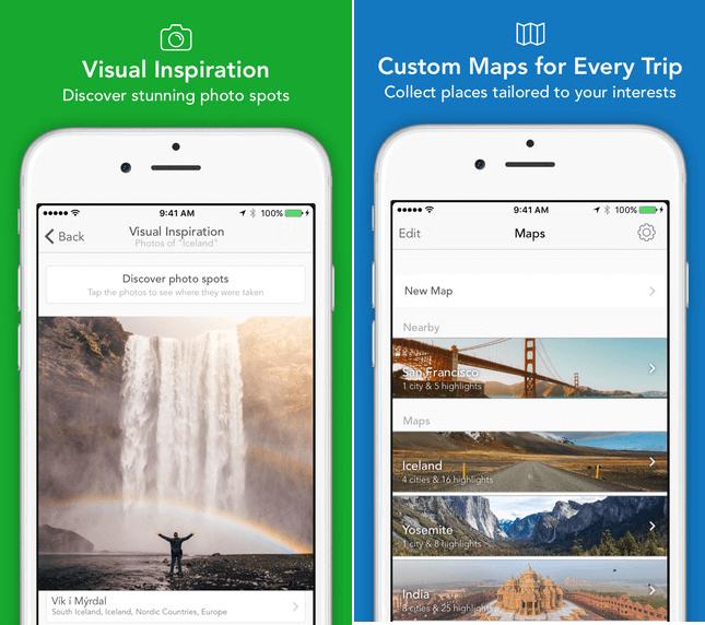 Modern Atlas App