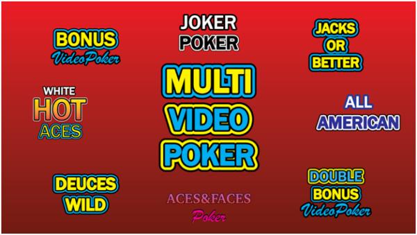 Mutli video poker casino