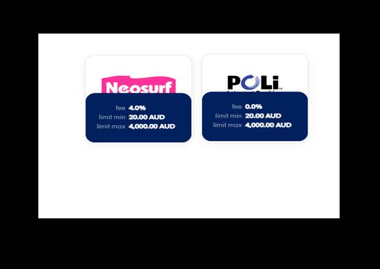 Neosurf and POLi
